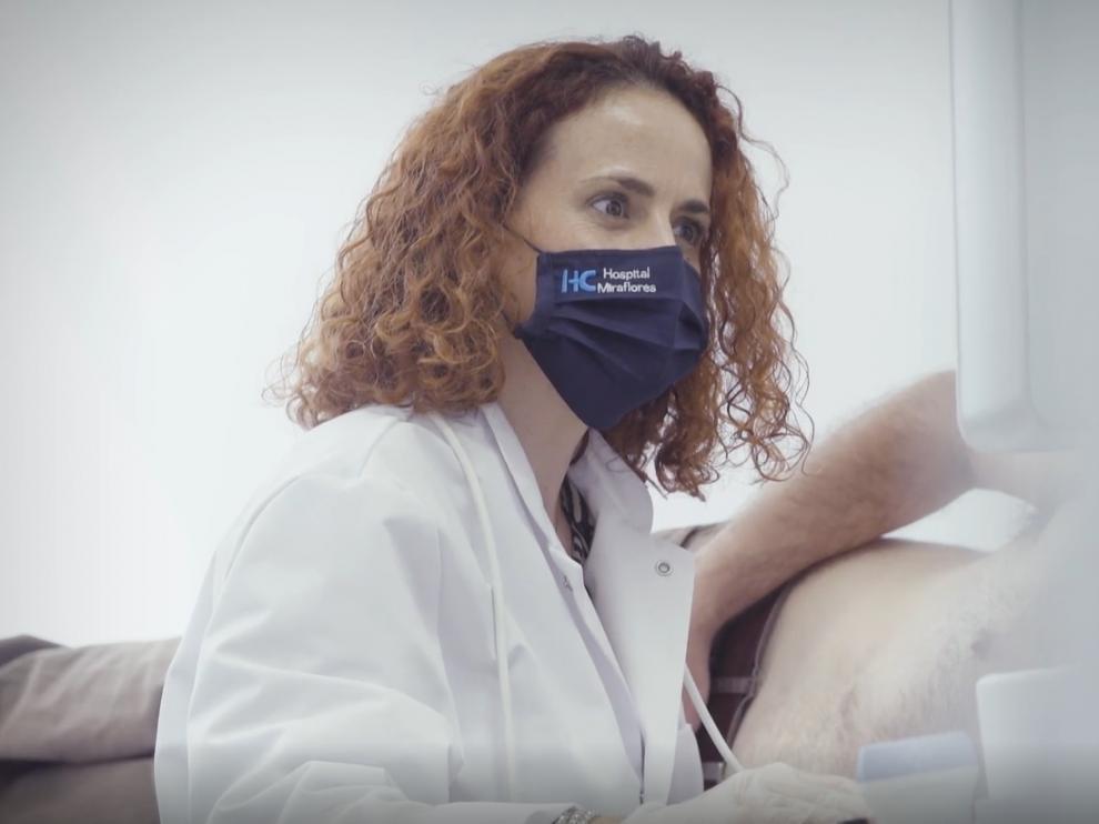 La doctora Beatriz Ordóñez dirige el servicio de Cardiología del Hospital HC Miraflores.