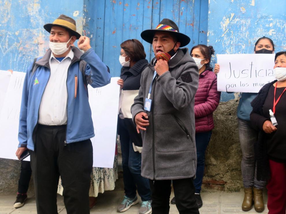 Bolivia está dividida por tratamiento como exsenadora a Áñez ante la Justicia