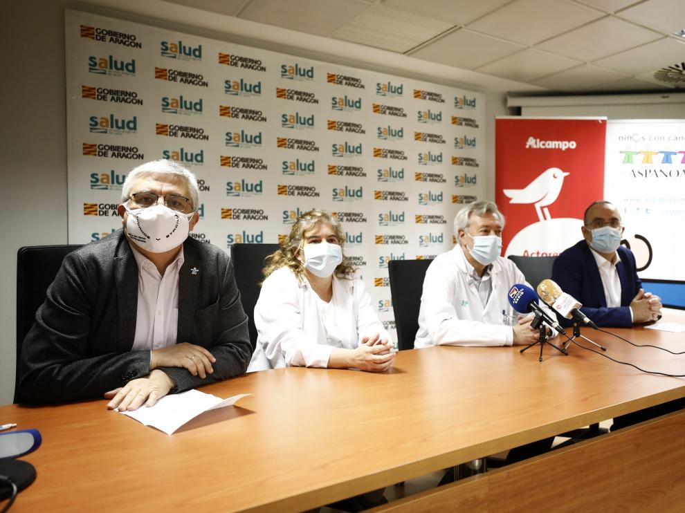 Presentación del proyecto para mejorar la nutrición de los niños con cáncer en el Hospital Infantil.