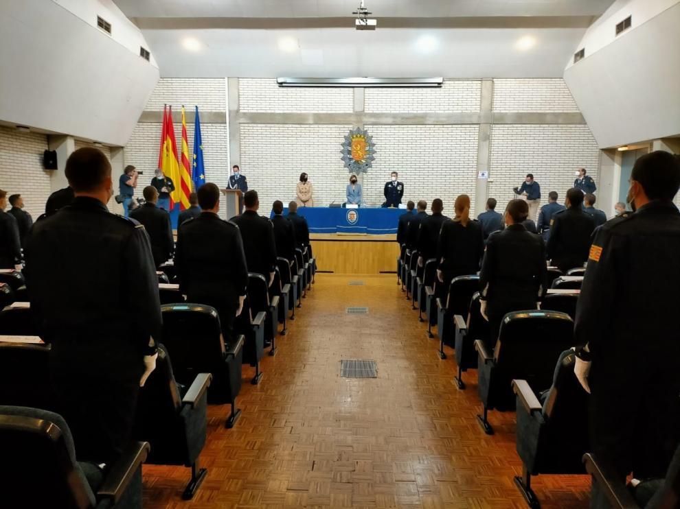 Entrega de despachos a los 43 nuevos agentes de la Policía Local