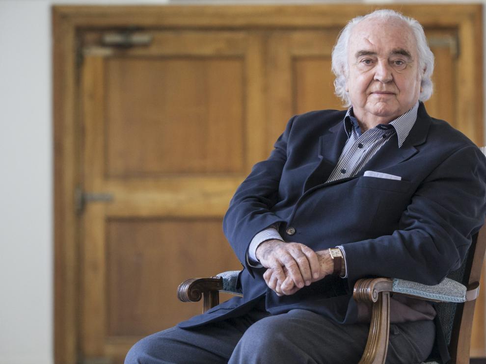 El compositor turolense Antón García Abril