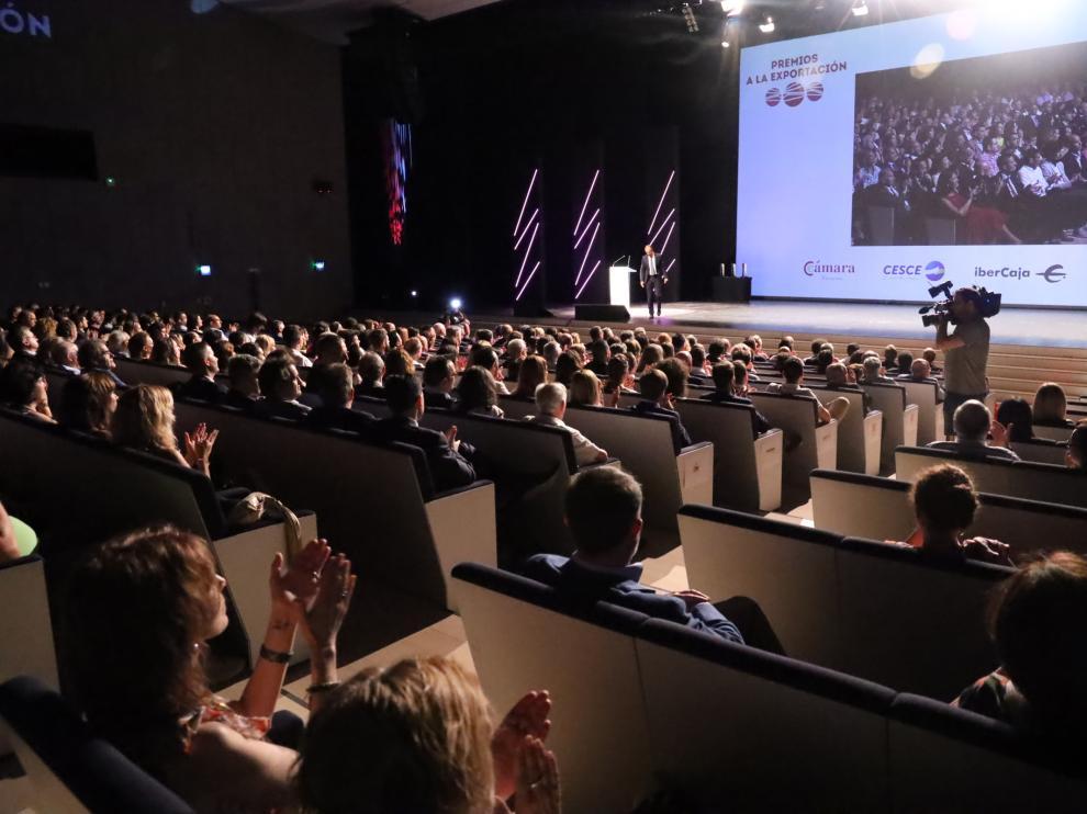 Imagen de la gala de entrega de premios que se celebró en 2019 en el Palacio de Congresos.