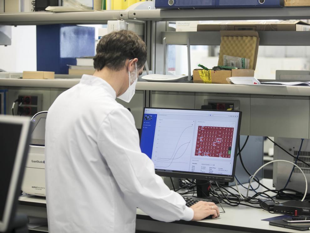 Gómez-Arrue, con los resultados de las PCR analizadas