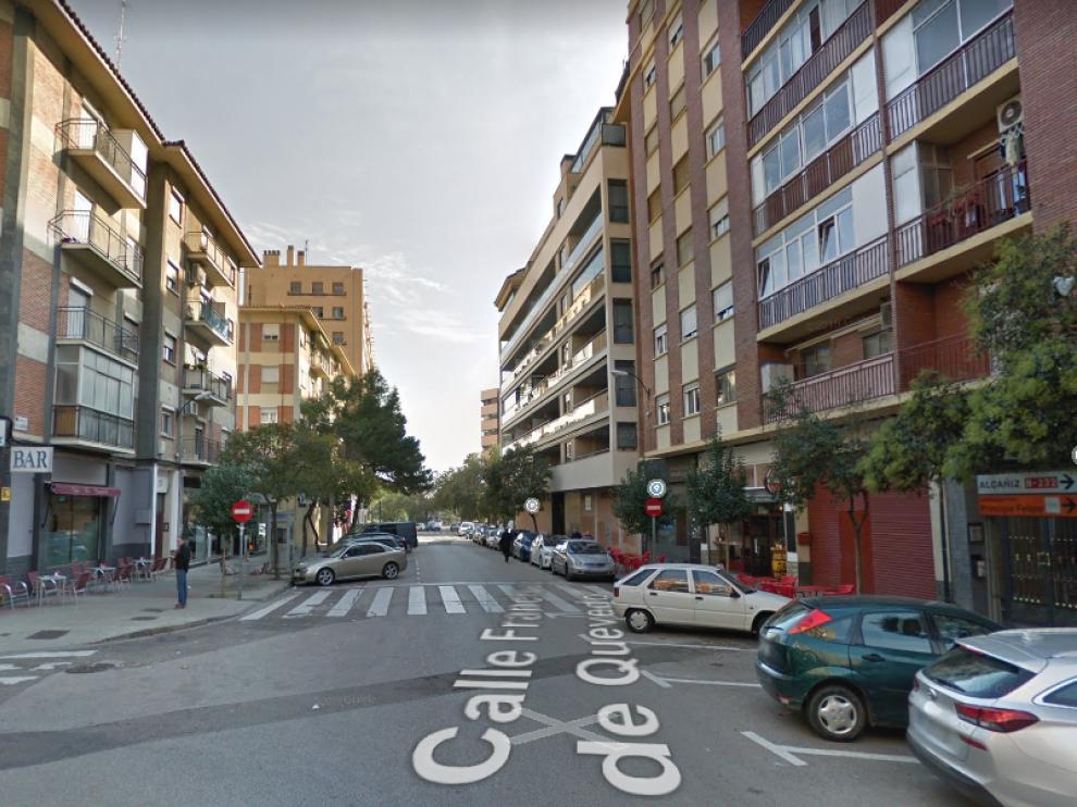 La intervención se llevó a cabo en la calle de Francisco de Quevedo del barrio de Las Fuentes.