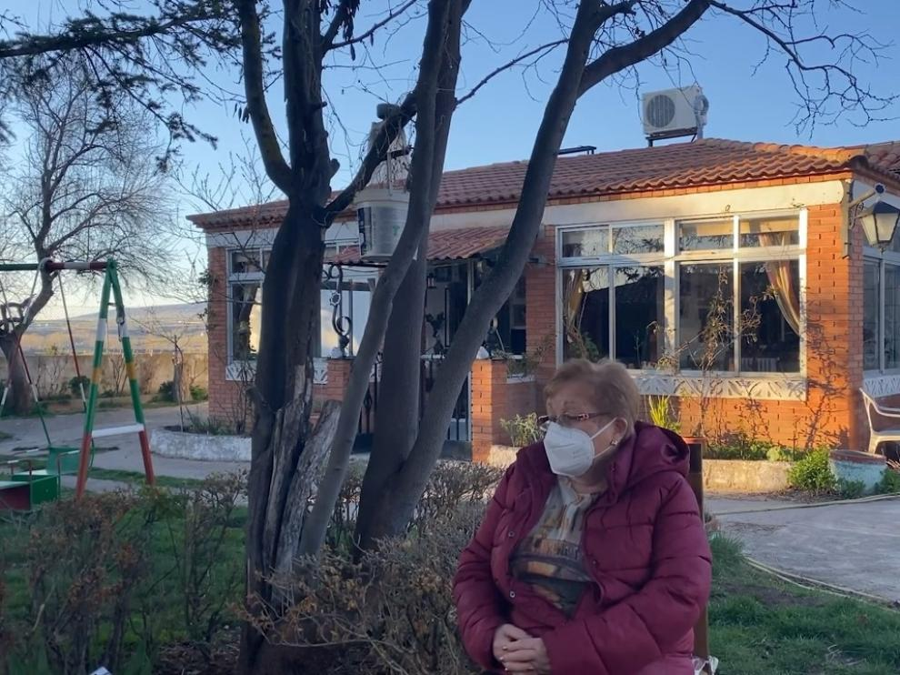 Rosa María Castán, una usuaria del programa Acompañando-Teruel, en el video que repasa el año de trayectoria.