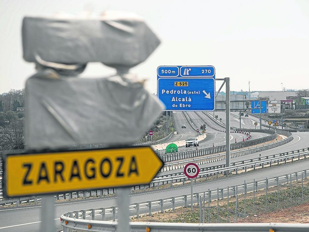 Todo listo para la apertura. El asfaltado de la autovía entre Figueruelas y Gallur acabó hace tres semanas, lo que ha permitido adelantar su inauguración. Los remates aún se alargarán hasta principios de abril.