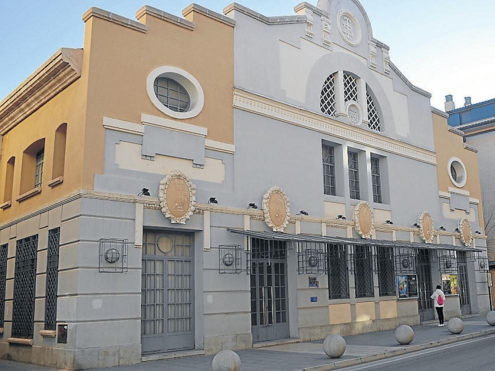 Fachada del teatro Bellas Artes, de 1921, que también es sala de cine.