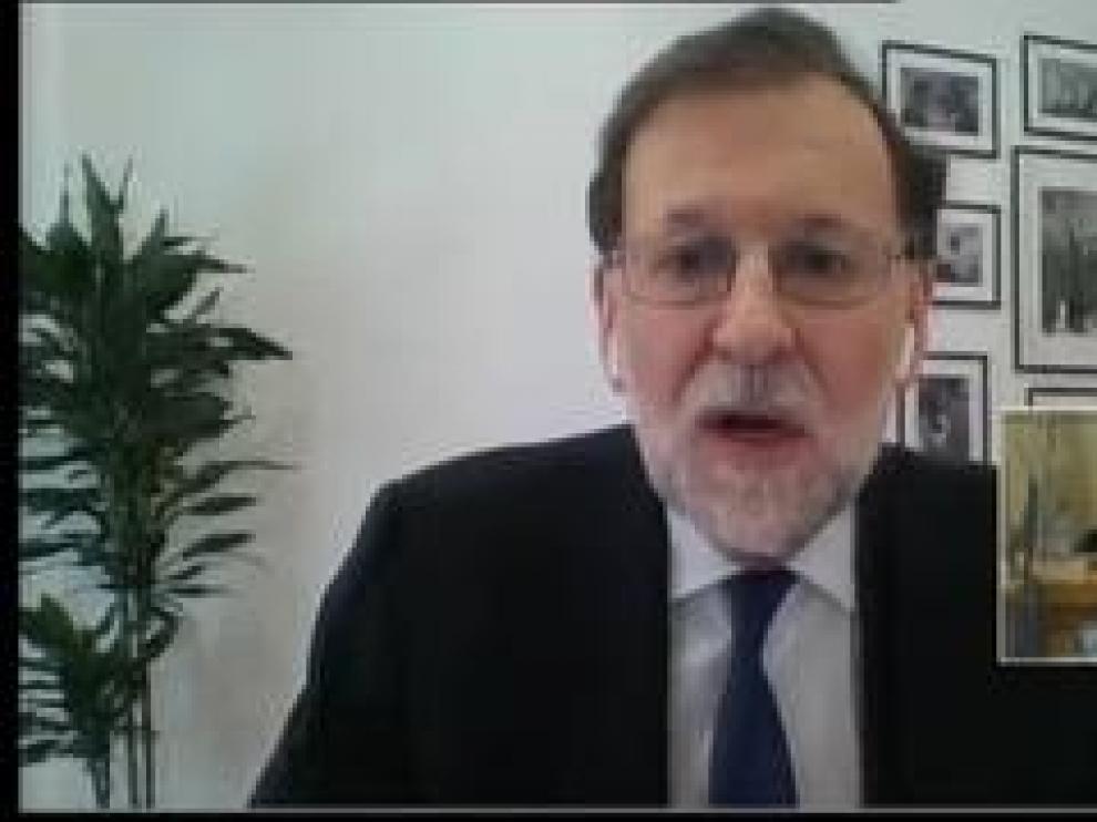 """El expresidente del Gobierno tacha de """"delirio"""" todas las acusaciones de Bárcenas sobre una financiación ilegal del PP"""