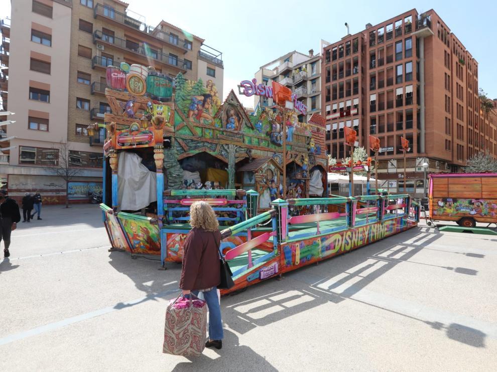Plaza San Antonio.Apertura de las atracciones feriales / 26-03-2021 / Foto Rafael Gobantes[[[FOTOGRAFOS]]]