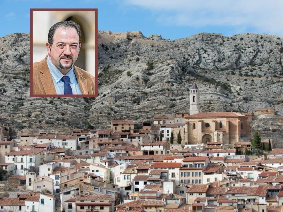 El histórico político turolense Ramon Millan dejó este miércoles la alcaldía de Castellote.