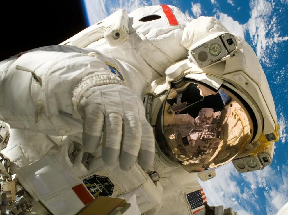 Foto de archivo de un astronauta