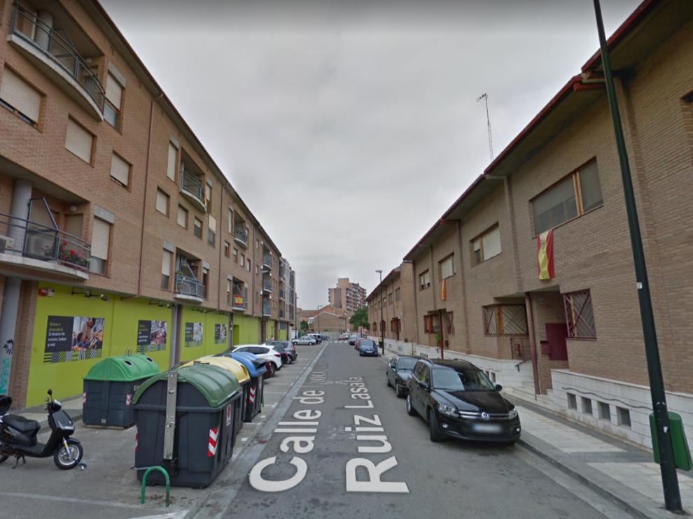 Una imagen de la calle de Inocencio Ruiz Lasala, en el barrio de Santa Isabel de Zaragoza.