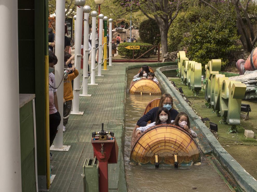 Un parque de atracciones en tiempos de covid