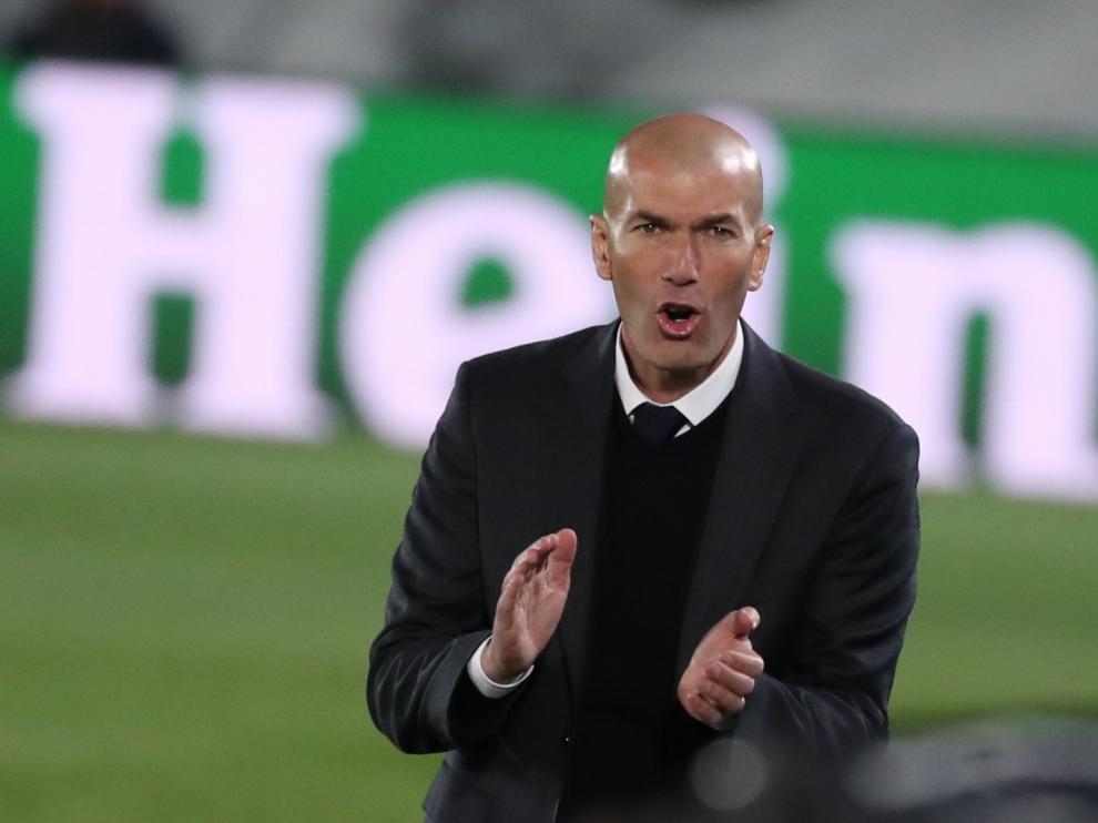 Partido Real Madrid-Liverpool: Zidane