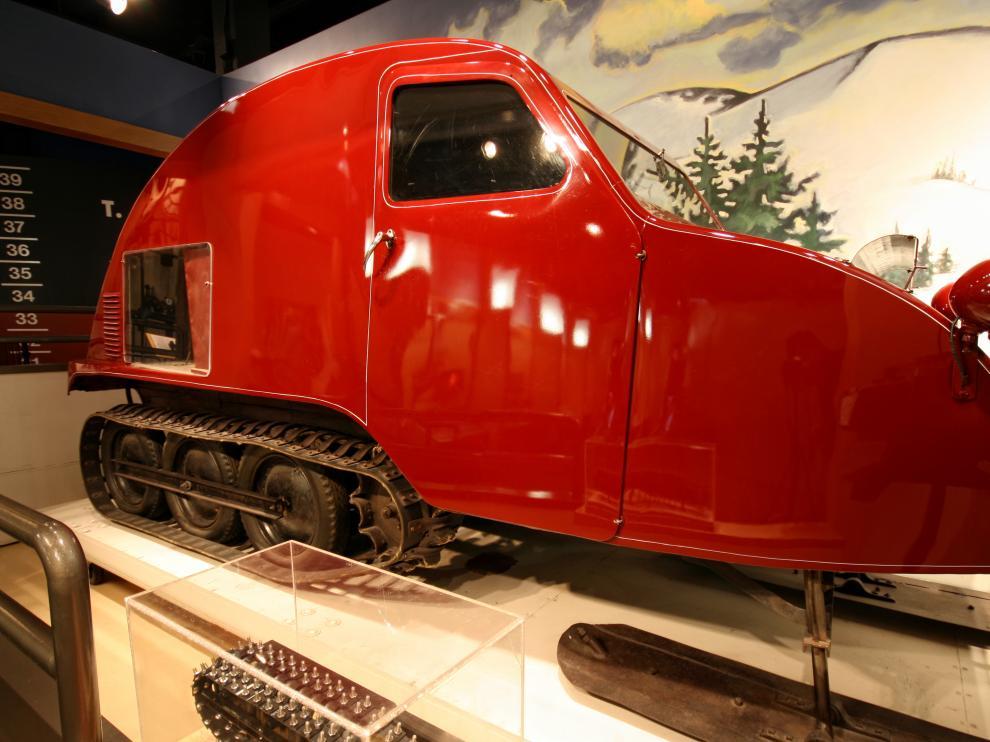 El Bombardier B7 de 1935, el primer vehículo en ser comercializado.