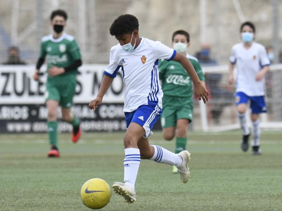 Real Zaragoza-Stadium Casablanca de Alevín Preferente