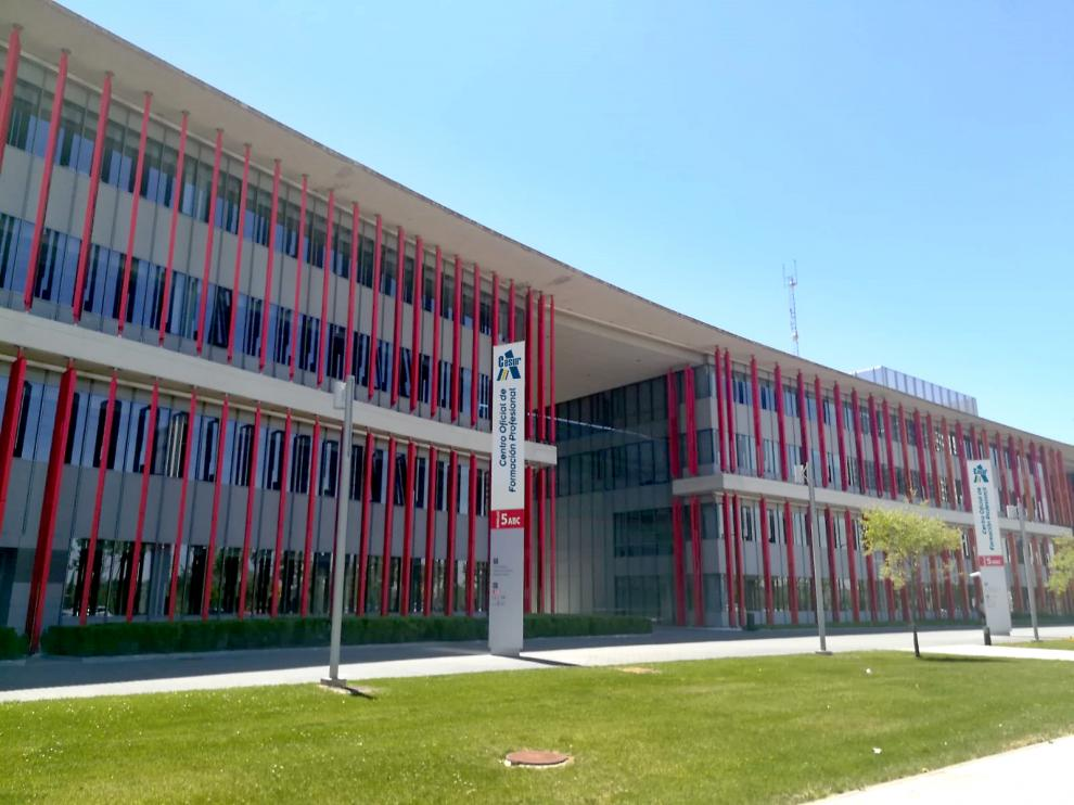 Las instalaciones de Cesur, en el Parque Dinamiza Expo.