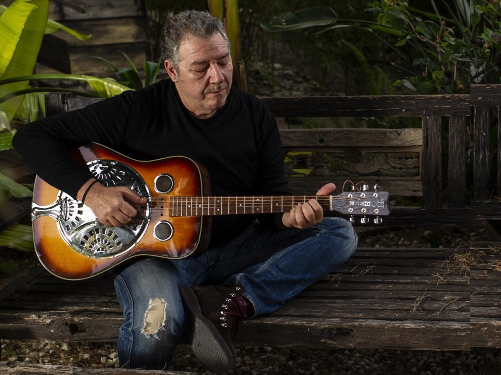 El músico Carlos Goñi