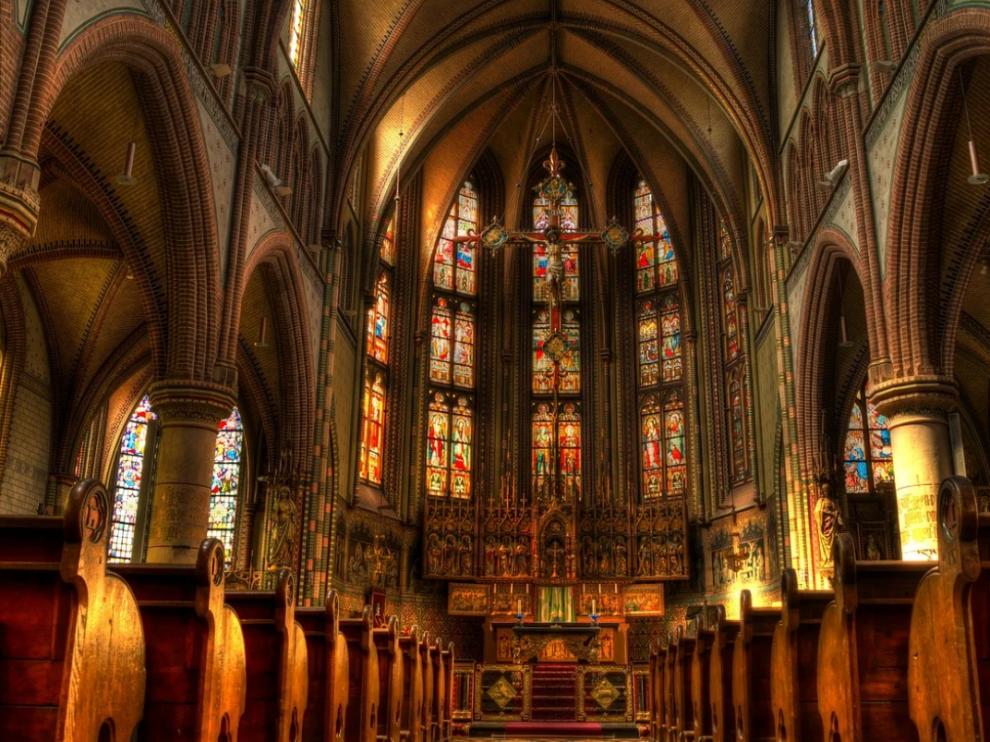 Imagen de archivo de una iglesia