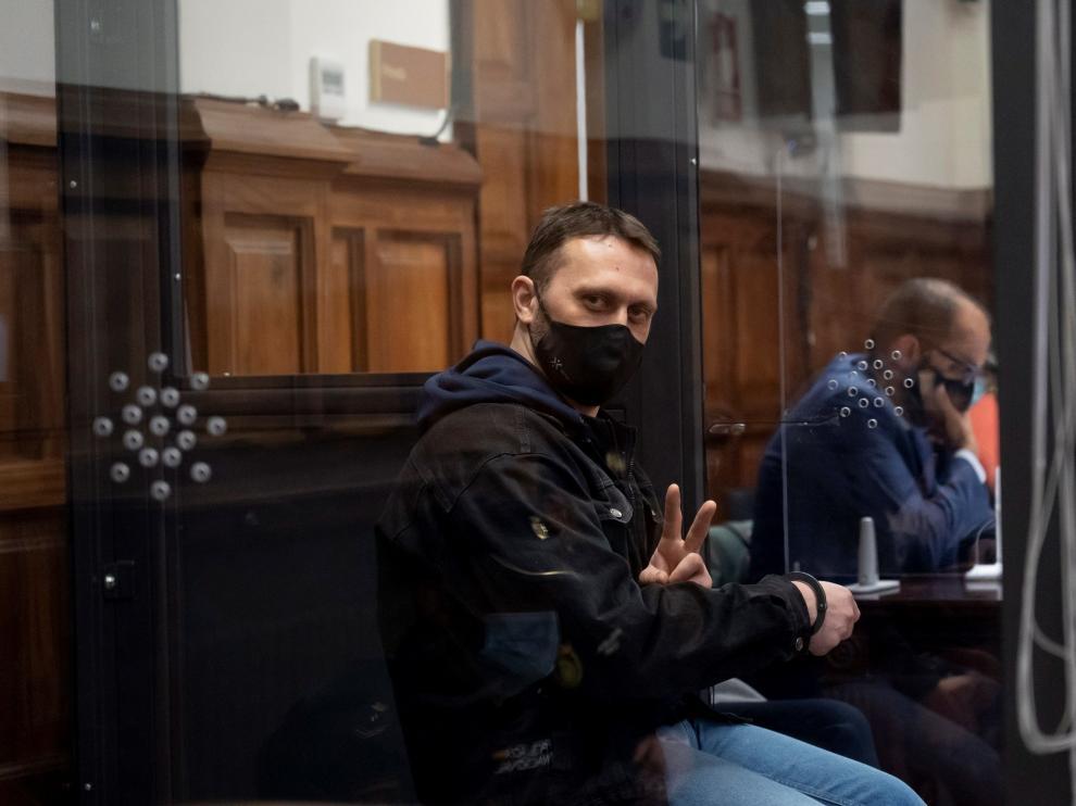 Tercera jornada del juicio de Igor el Ruso en Teruel