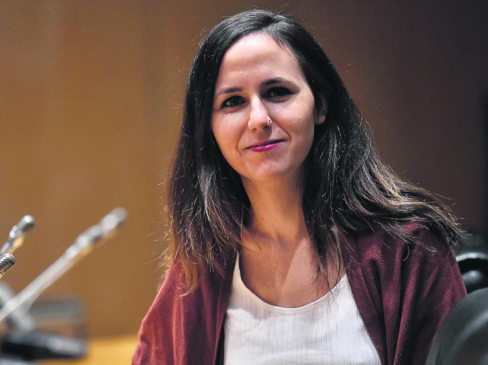 Ione Belarra, ministra de Derechos Sociales.