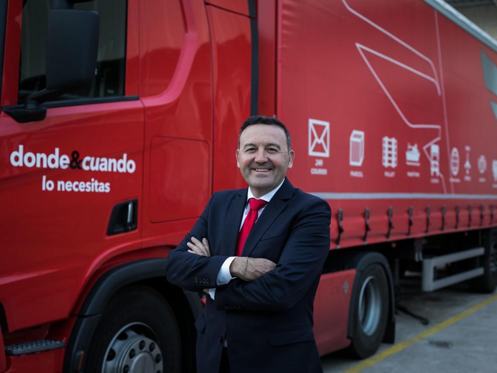 Alfredo Caballero, CEO de TAC Logística.