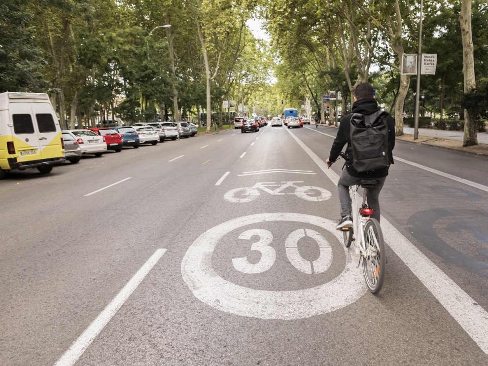 El Paseo del Prado de Madrid a 30km/h