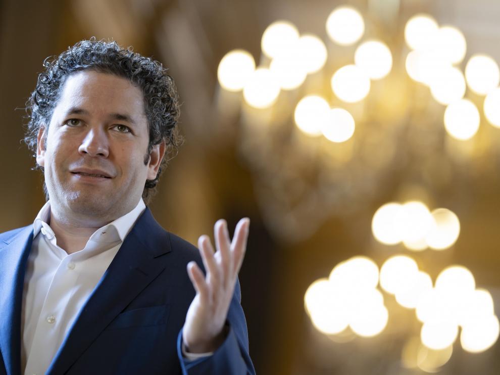 Gustavo Dudamel, durante su presentación como director musical de la Ópera de París.