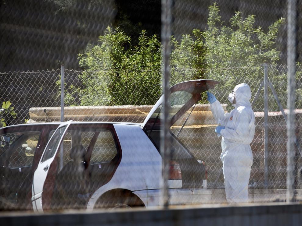 Los Mossos hallan el cadáver de un hombre en el maletero de su coche en Rosas