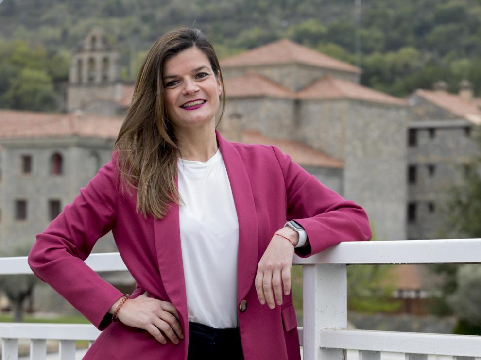 María Bellosta es la directora del Hotel Barceló Monasterio de Boltaña.
