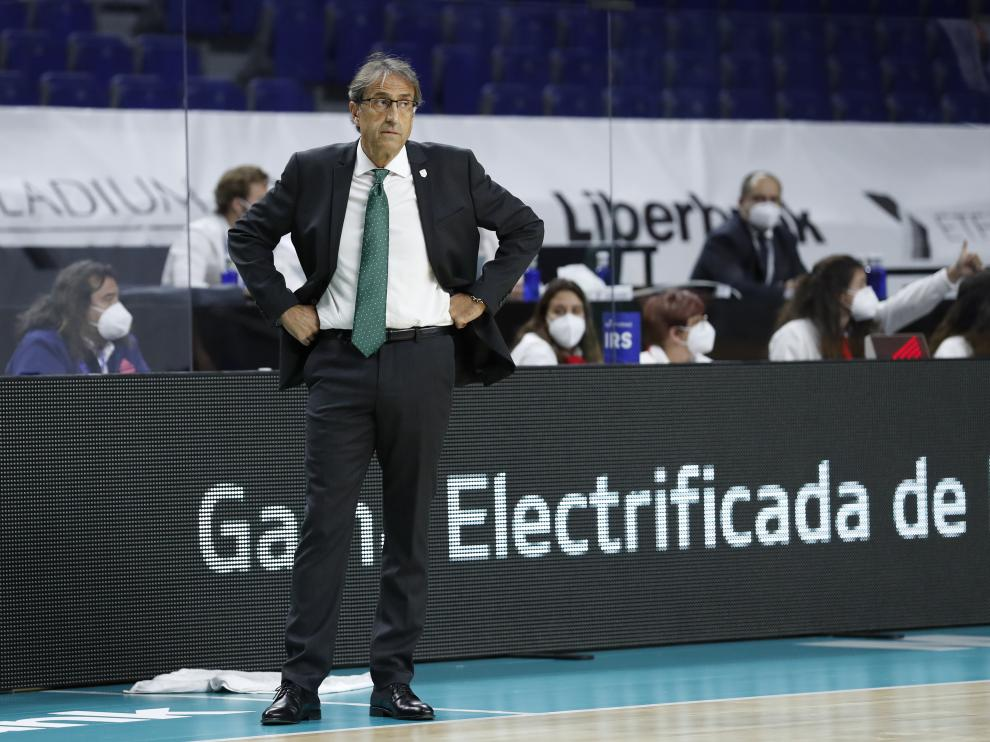 El Casademont ficha como entrenador a Luis Casimiro, tras la dimisión de Sergio Hernández.