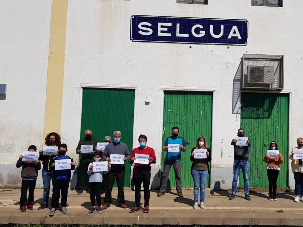 Concentraciones en Aragón para reivindicar un servicio de tren de calidad