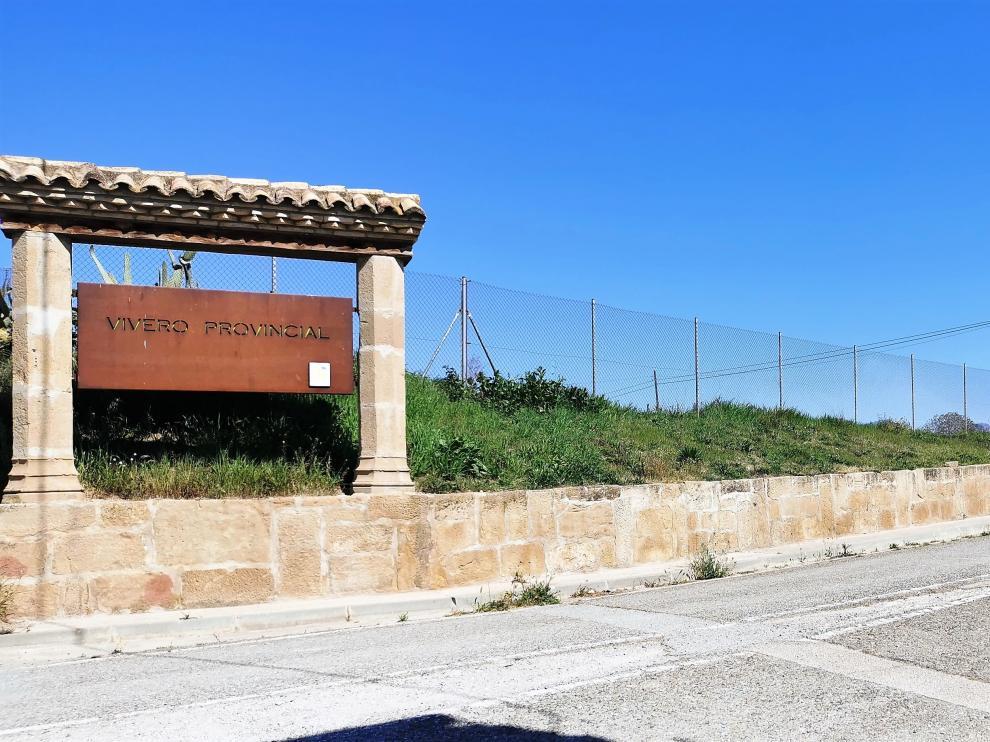 Entrada al Vivero Provincial, donde estará el Centro de Coordinación del Speis.
