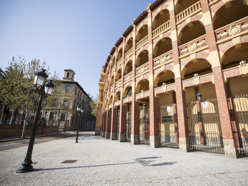 El Coso de La Misericordia en Zaragoza