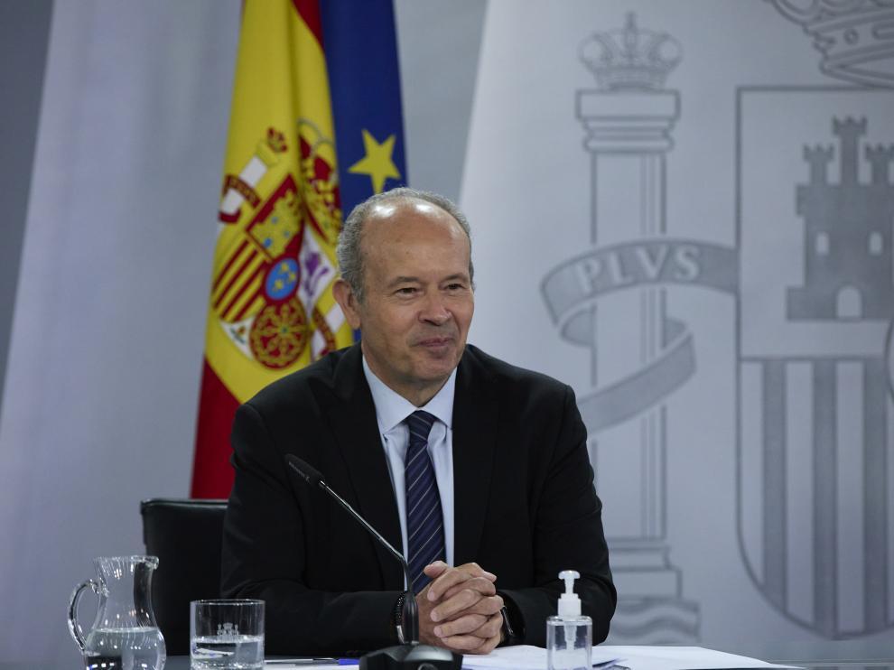 Ministro de Justicia, Juan Carlos Campo