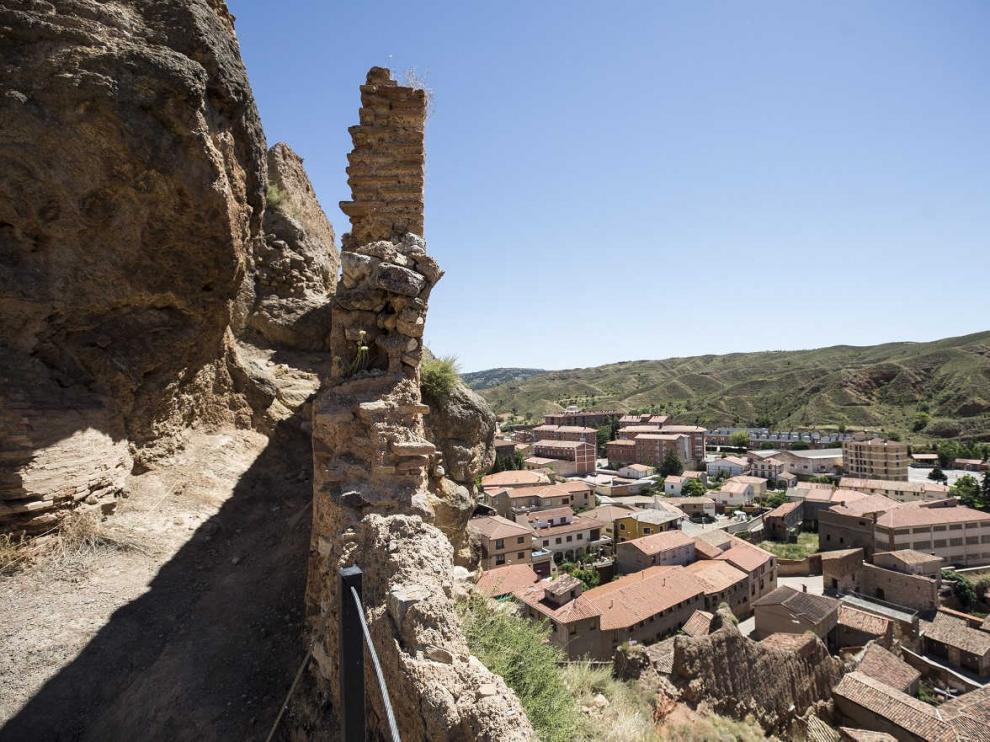 Vista de la localidad de Daroca