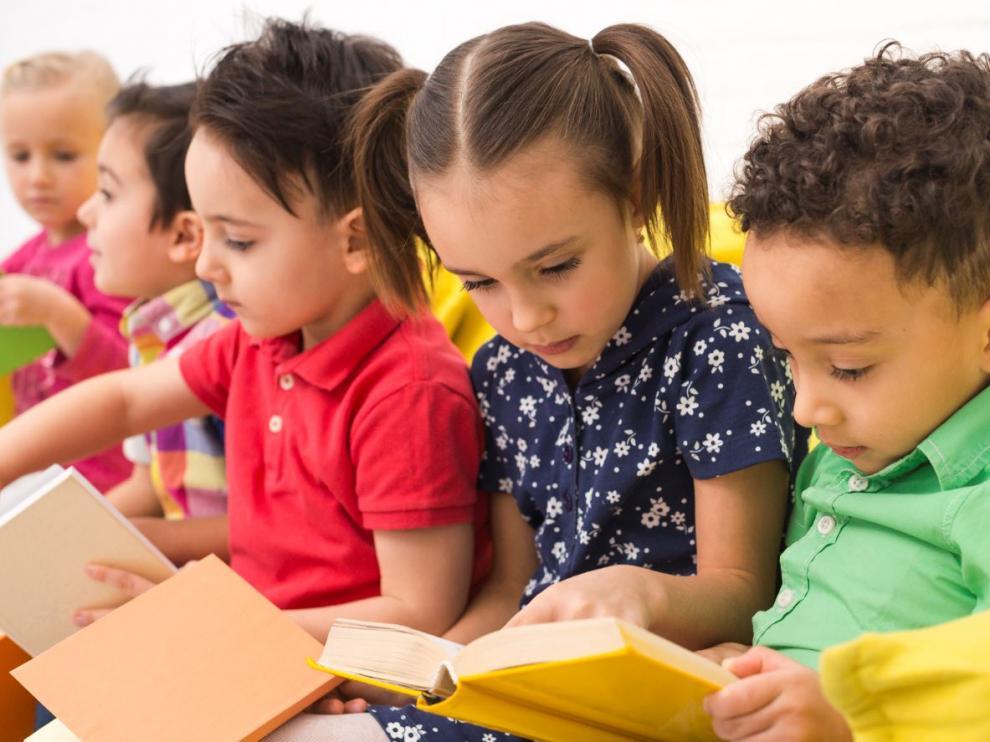 Los niños tienen una cita, mañana, con los libros