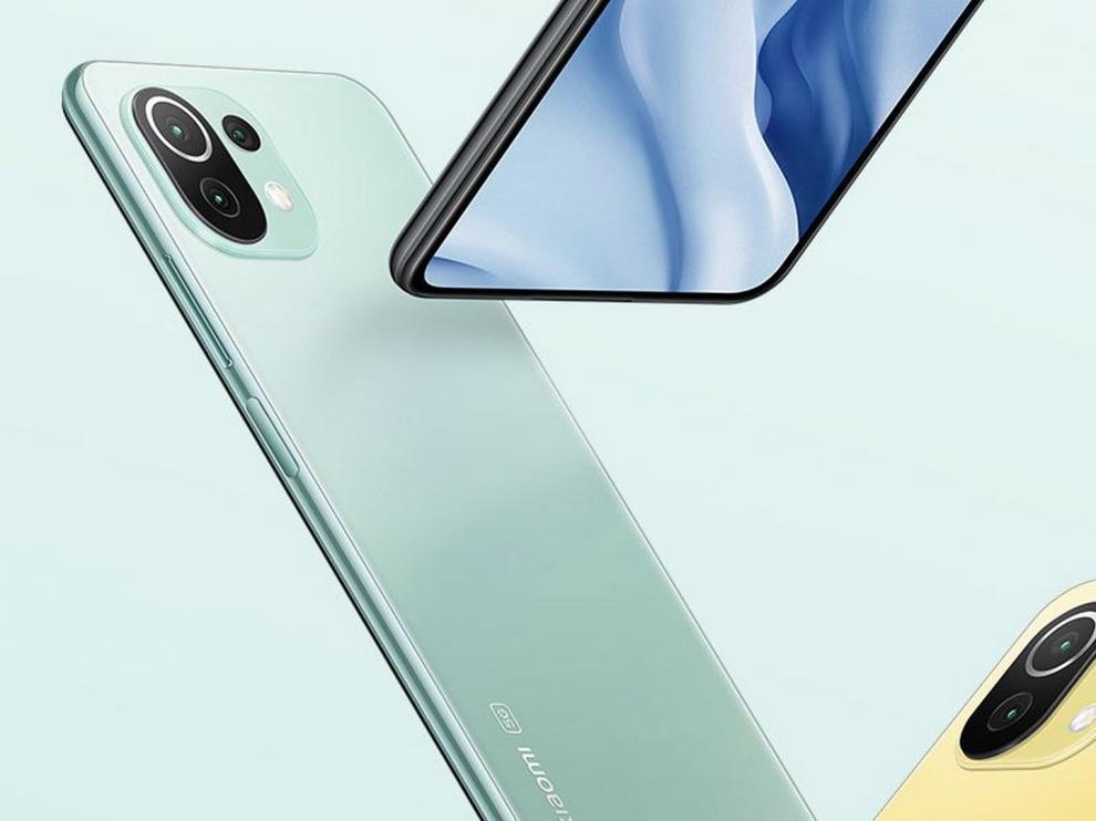 El Xiaomi Mi 11 Lite pesa solo 157 gramos