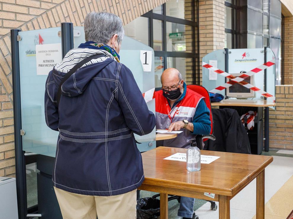 Servicio de ayuda del Ayuntamiento de Zaragoza para las autocitas.