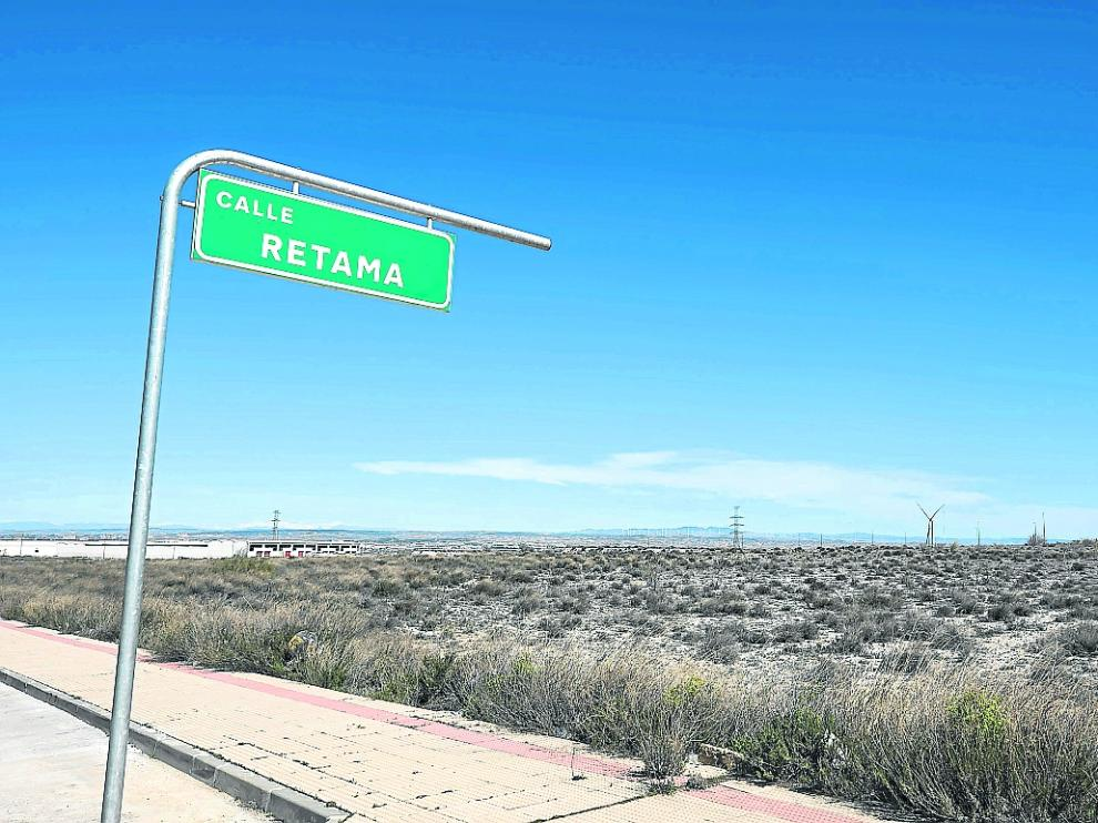 Emplazamiento de las diez hectáreas en las que Becton Dickinson estrenará su planta en 2023.