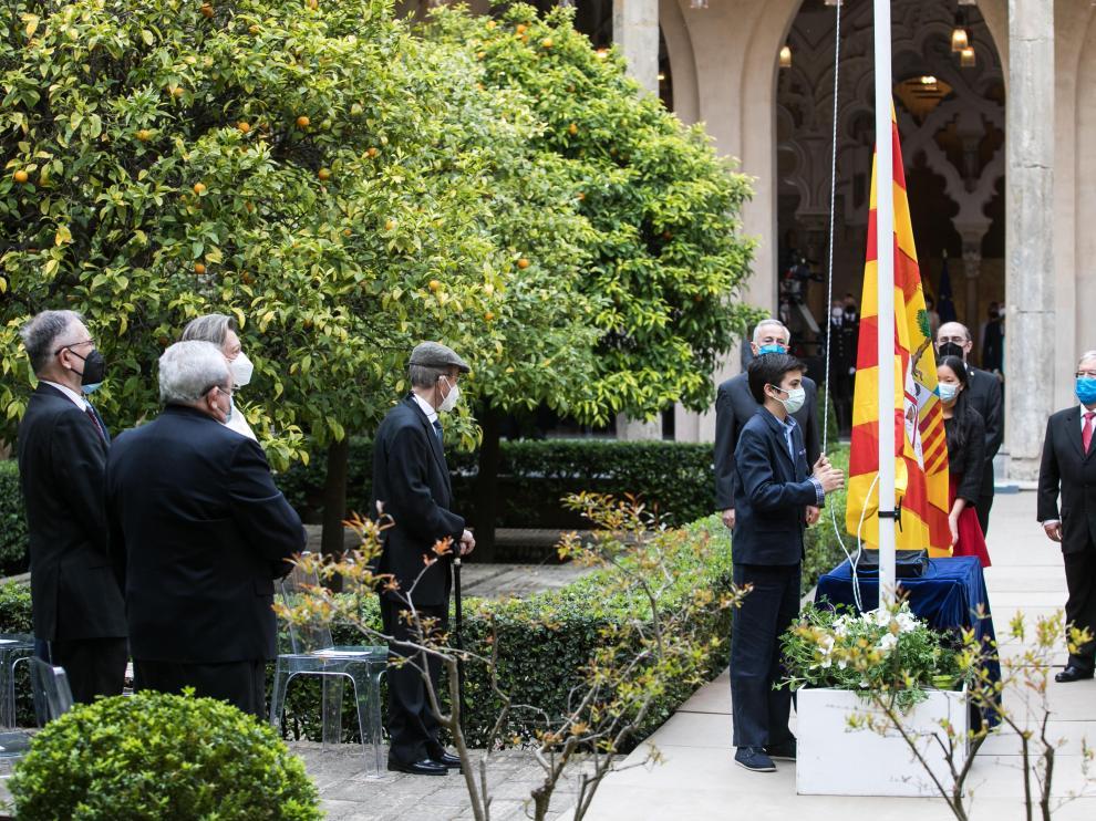 Celebración institucional del Día de Aragón en La Aljafería