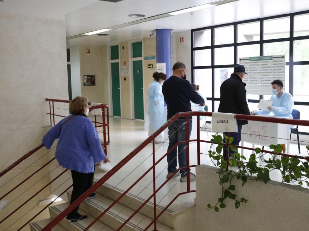 Comienza la vacunación de Janssen en Aragón: centro de salud Las Fuentes Norte de Zaragoza