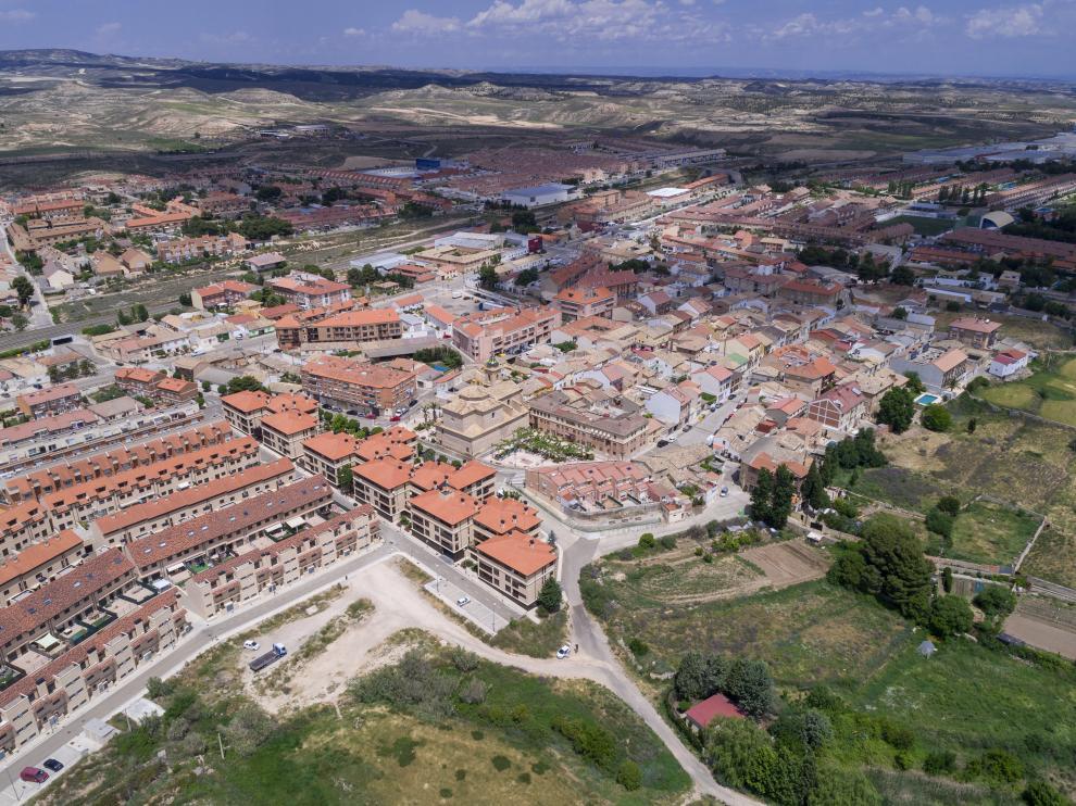 Vista aérea de María de Huerva