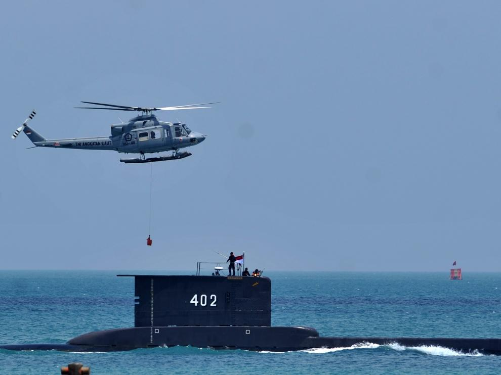 Imagen de archivo del submarino indonesio 'KRI Nanggala 402', hundido el 21 de abril