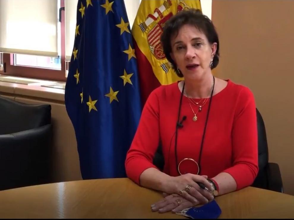 María Ángeles Benítez, directora de la Comisión Europea en España.