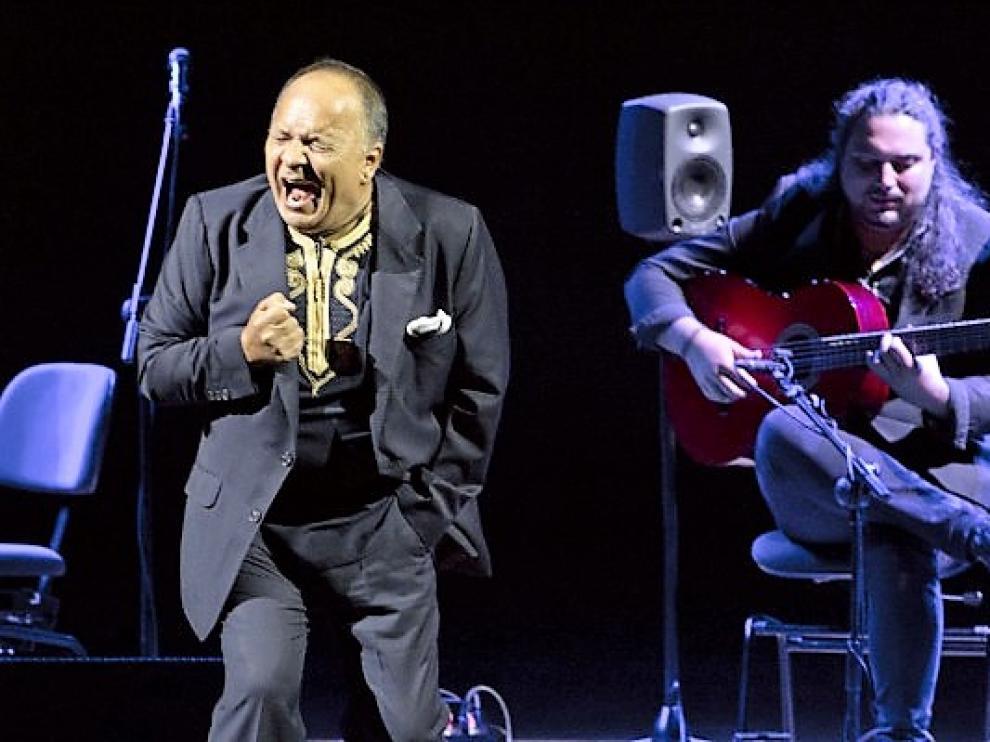 'El Pele', cantaor cordobés que el 29 de abril protagoniza la Primavera Flamenca de Huesca.