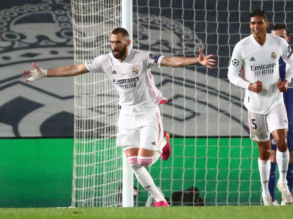 Partido Chelsea-Real Madrid, ida de semifinales de la Champions: gol de Benzema