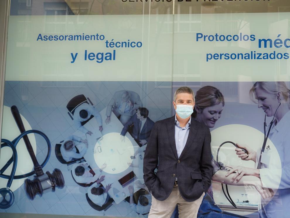 En la imagen José Luis Baguer, director territorial de Mas Prevención.
