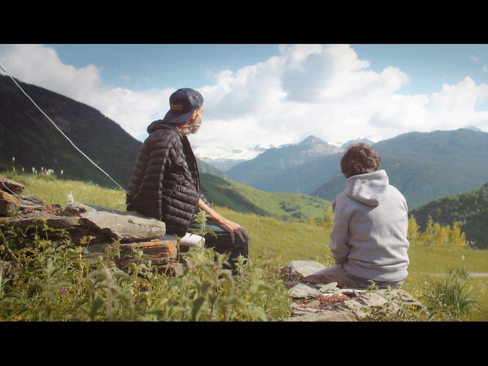 Fotograma del documental realizado por Jordi Élvole con Pau Donés 'Eso que tú me das', que se proyectará en Montanuy.