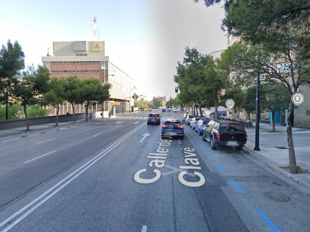 Los hechos ocurrieron poco antes de las 22.00 del lunes, en la calle de José Anselmo Clavé.